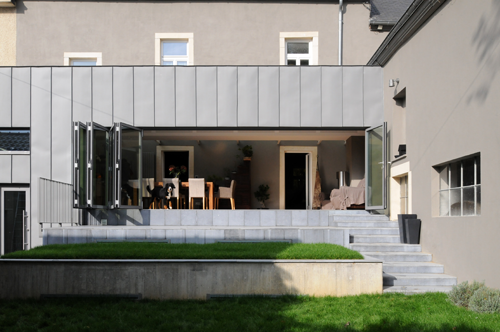 Extension d 39 une maison individuelle luxembourg travaux for How to redesign your house